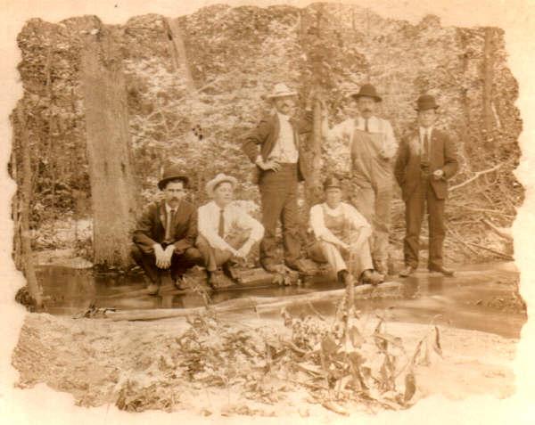 Early men in 19th century