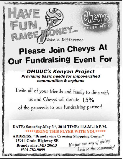 May 3 at Brandywine Crossing - bring this printed coupon