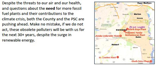 Text and map are also on the cleanair website in readable text